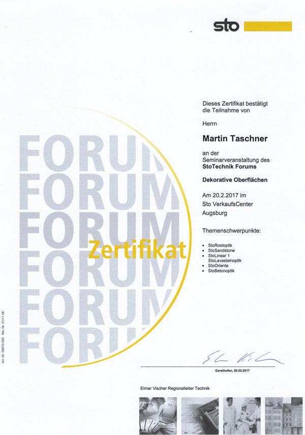 Maler_Taschner_Zertifikat2