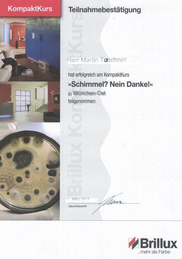 Maler_Taschner_Zertifikat3